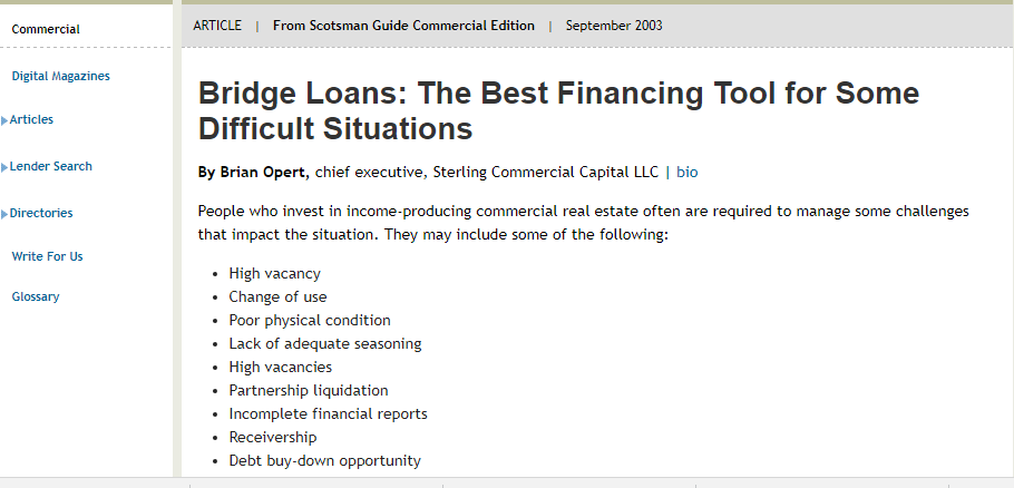 Commercial Proof Of Funds Letter from www.sterlingcommercialcapital.com